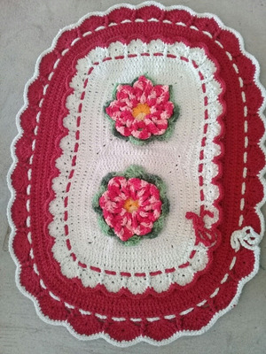 Tapete Croche Apronta Entrega E Sobre Encomenda 44)998410690