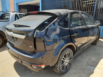 Sucata Ford Focus Ghia 2.0 16v Manual 2009 Pra Retirar Peças