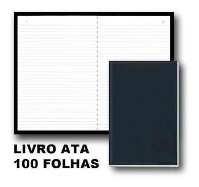 Livro Ata 100 Folhas Pcte C/ 8 Un. - São Domingos