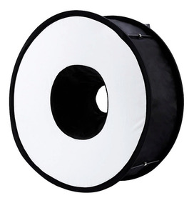 Ring Softbox Para Flash Canon Nikon Godox Yongnuo Universal
