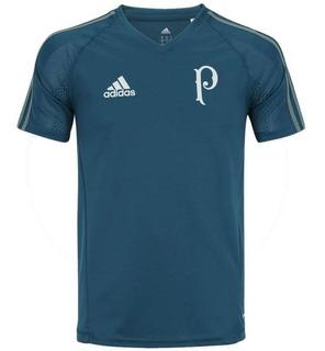 Camisa adidas Palmeiras 17/18 Treino - Infantil