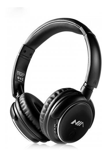 Fone Com Microfone Para Celular Headphone Nia Q1 Wireless Fm
