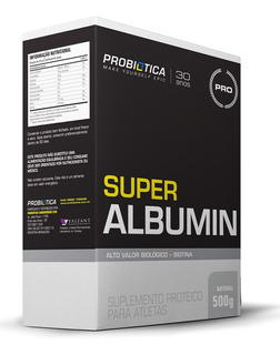 Super Albumin (500g) - Probiótica - Chocolate