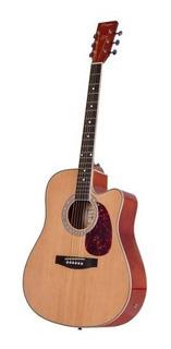 Guitarra Electroacústica Parquer Mystic Jumbo Funda Cuota