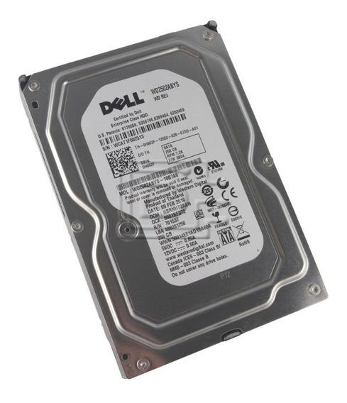 Hd Dell 250gb Sata 2 7.2k 3.5 S/gaveta P/n 0h962f Wd2502aby