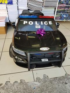 Carro Policial Control Remoto