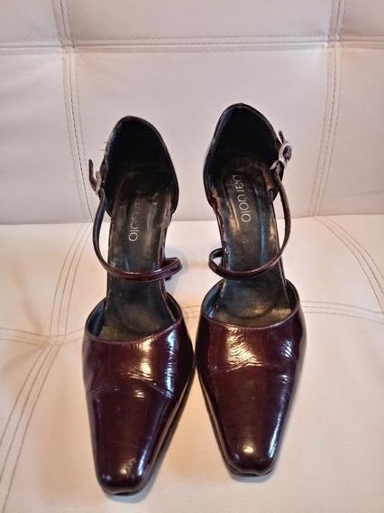 Zapato Stiletto Mujer Cuero Paruolo