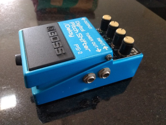 Pedal Boss Digital Pitch Shifter Delay Ps2 - Made In Japan