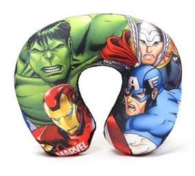 Protetor Almofada De Pescoço Bebê Os Vingadores - Marvel