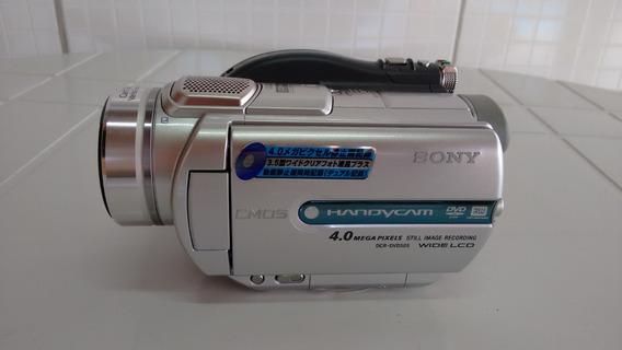 Duas Filmadora - Sony Mini Dvd + Filadora Jvc Vhs-c
