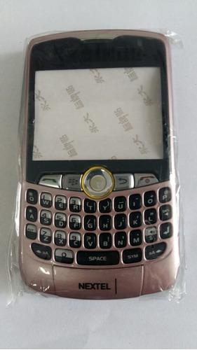 Imagem 1 de 2 de Carcaça Celular Nextel 8350i Rosa.