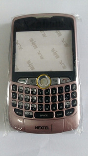 Carcaça Celular Nextel 8350i Rosa.