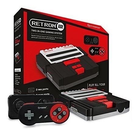 Consolas,hyperkin Retron 2 Snes Nes Consola Videojuegos..