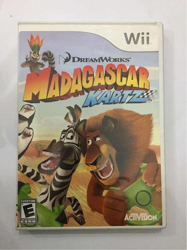 Madagascar Kart Z Nintendo Wii