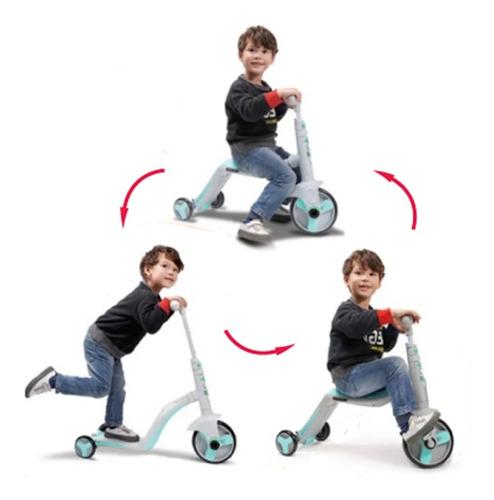 Pata Pata Monopatín Triciclo Felcraft Con Luces Y Sonidos