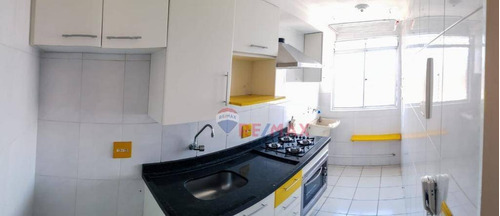 Apartamento Com 3 Dormitórios À Venda, 50 M² Por R$ 235.000,00 - Vila Carmosina - São Paulo/sp - Ap1152