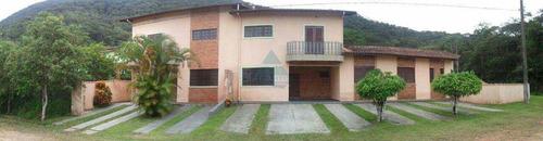 Imagem 1 de 15 de Casa Em Condomínio Para Venda Em Ubatuba, Lagoinha, 9 Dormitórios, 3 Suítes, 3 Banheiros, 10 Vagas - 1073_2-1135433
