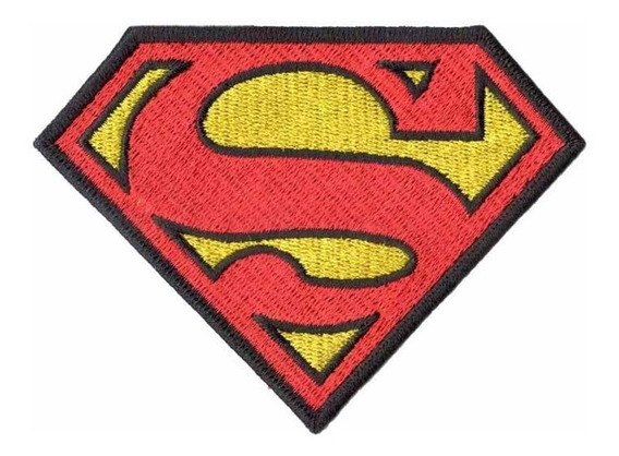 Patch Bordado - Super Homem Superman Dv80279