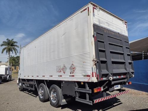 Imagem 1 de 15 de 2425 Truck Baú Com Plataforma Impecável