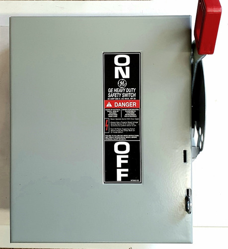 Imagen 1 de 7 de Interruptor De Seguridad General Electric Thn 3361