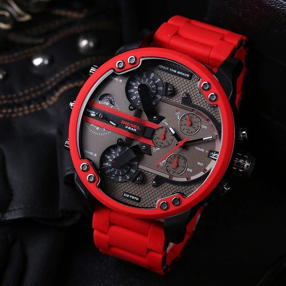 Relógio Diesel Dz7370 Mr. Daddy 100% Original Com Caixa