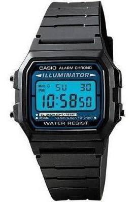 Reloj Casio Nuevo Iluminator Luz Azul Alarma Y Cronometro