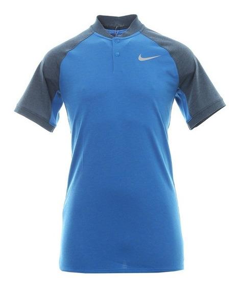 Camiseta Nike Golf Modern Fit Azul Masculina M - 833079