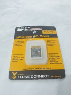 Fc-sd 8gb Fluke Wireless Card