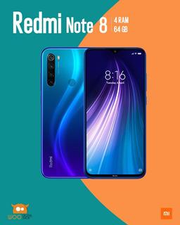 Xiaomi Redmi Note 8 64gb (azul) Ultimo Disponible!