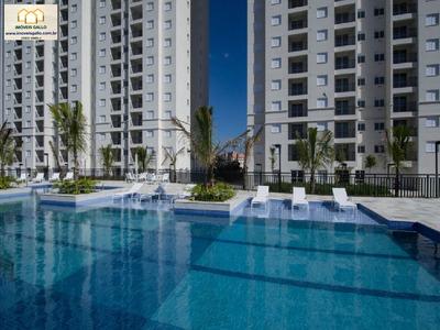 Start São Bernardo Do Campo 2 Dormitórios Com 1 Vaga E Lazer Completo De Clube - Start Sbc - 33799316