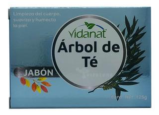 Jabón Árbol De Té Barra 125 Grs Vidanat