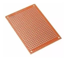 Placa Fenolite Ilhada Perfurada 5x7 Cm Circuito Impresso