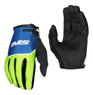 Luvas De Trilha / Motocross / Bike Ims Power Azul Neon
