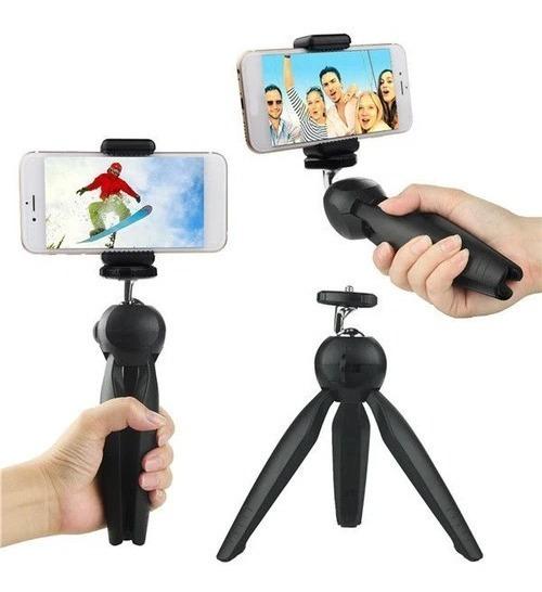 Suporte Mesa Tripé Celular E Câmera Escritório Mini Yuntfng