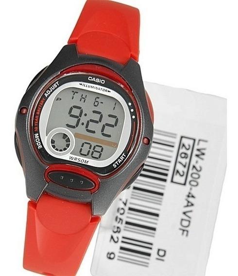 Relógio Casio Lw-200 Várias Cores Original