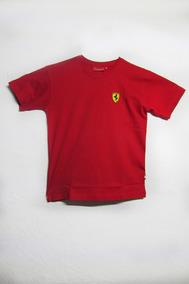 Camiseta Niño Ferrari Scudetto Pequeño