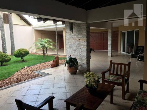 Casa Com 3 Dormitórios À Venda, 597 M² - Jardim Novo Mundo - Jundiaí/sp - Ca0920