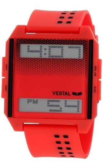 Vestal Dig001 Digichord - Reloj Unisex, Color Blanco Y Negro
