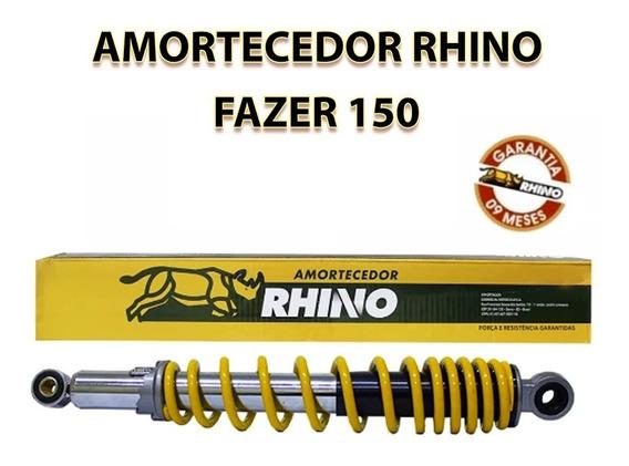Amortecedor Fazer 150 Rhino Amarelo Unid. Garantia 9 Meses