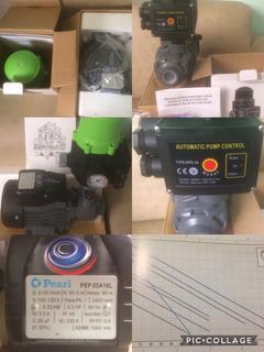 Bomba 0,5 Hp Pearl & Press Control Dps-3. Silenciosa Combo.