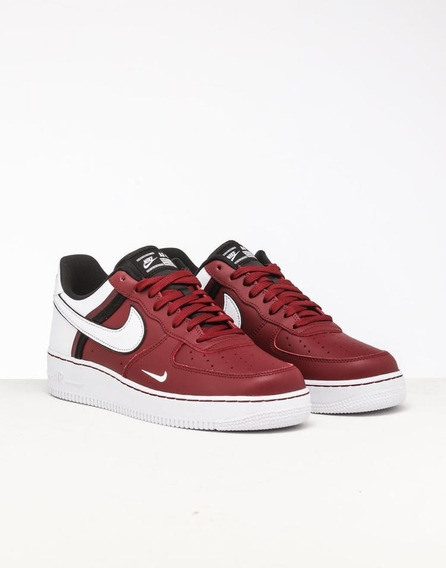 Zapatillas Nike Air Force 1 07 Lv8 Red White Black Hombre