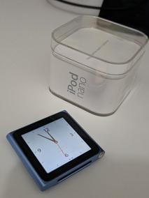 Ipod Nano 16gb Azul - 6a. Geração