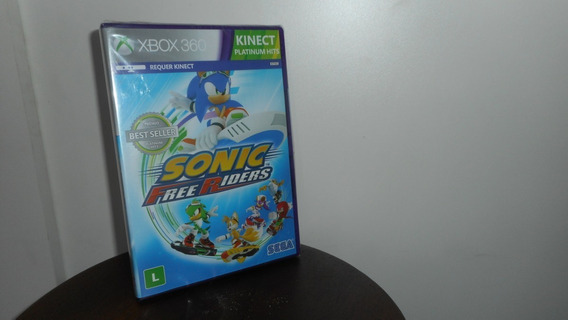 Sonic Free Riders Xbox 360 Mídia Física Novo Lacrado
