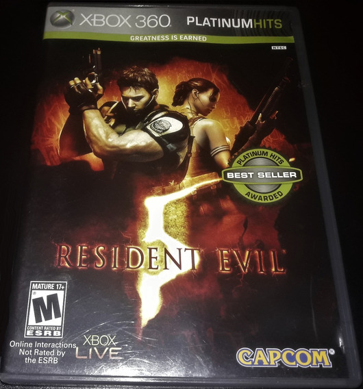 Resident Evil 5 - X-box 360