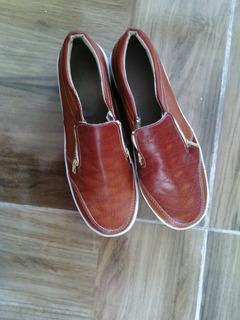 Zapatos Estilo Zapatilla Marron N° 39