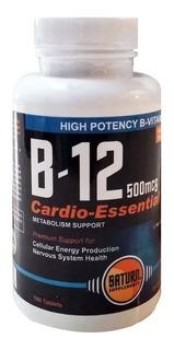 Vitamina B12 500 Mcg Saturn Apto Vegano