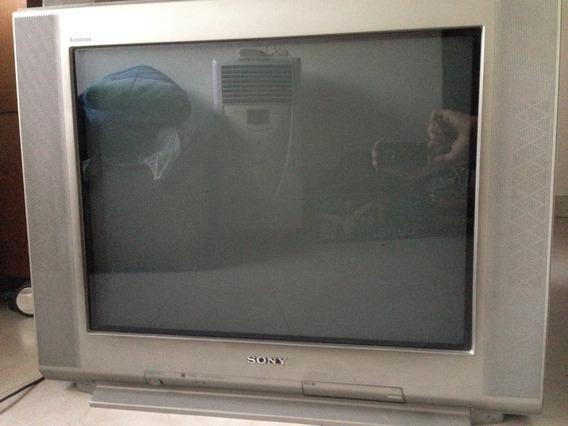 Tv Sony 29 Trinitron Tela Plana