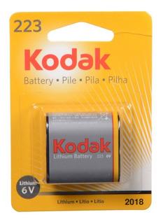Kodak 223a 6v Batería De Litio