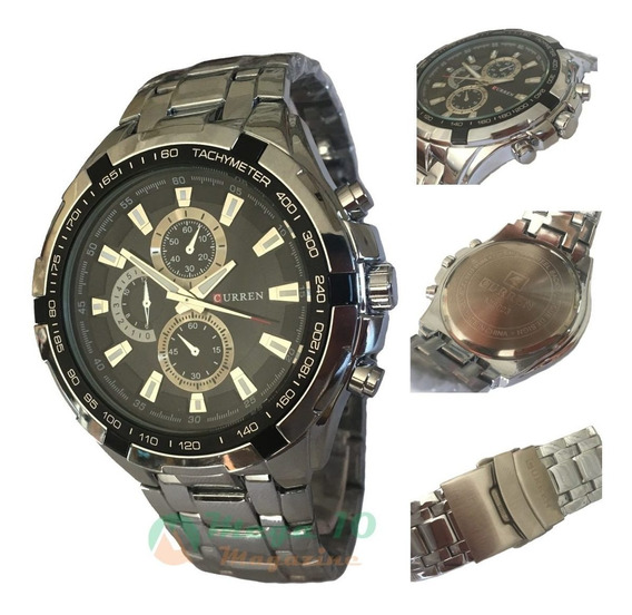 Relógio Masculino Curren 8023 Sporte Fino Social Cód.013