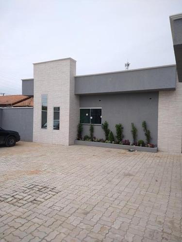 Casa Para Venda Em Itanhaém, Cibratel Ii, 2 Dormitórios, 1 Banheiro, 1 Vaga - It706_2-975829